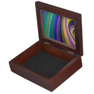 Colorful storm keepsake box