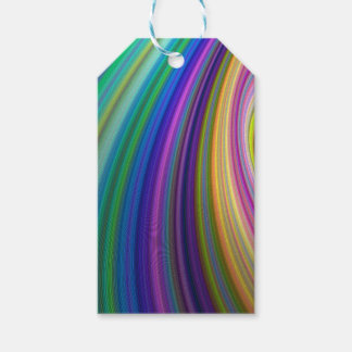 Colorful storm pack of gift tags