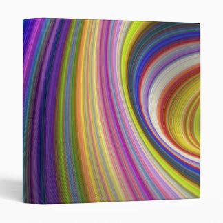 Colorful storm vinyl binders