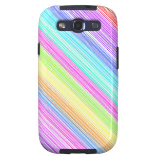 Colorful Stripes Galaxy S3 Cases