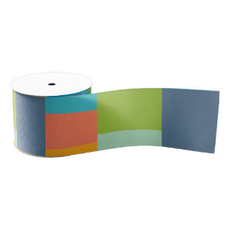 colorful stripes grosgrain ribbon