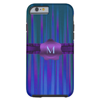 Colorful Stripes Monogram iPhone 6 case