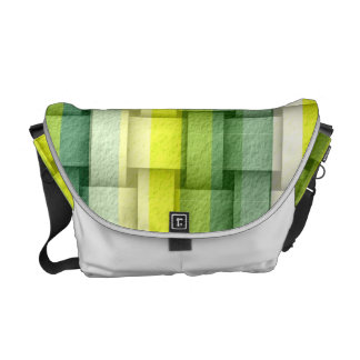 Colorful stripes painting art graphic design commuter bags