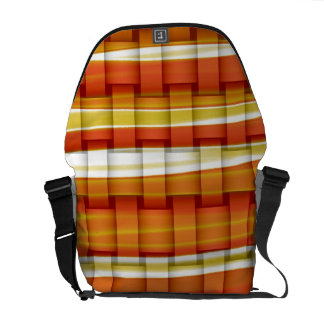 Colorful stripes painting art graphic design courier bags