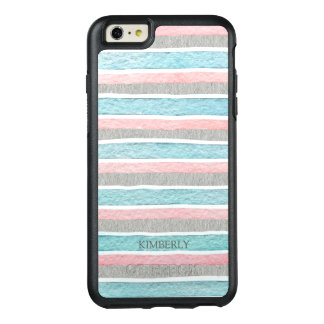 Colorful Stripes Pattern OtterBox iPhone 6/6s Plus Case