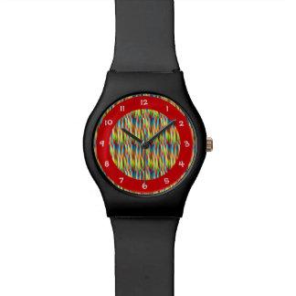 Colorful Stripes Pattern Watch
