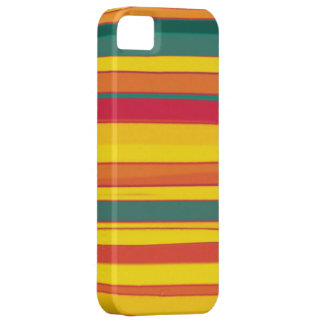 Colorful stripes seamless graphic design iPhone 5 covers