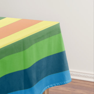 Colorful Stripes Table Cloth