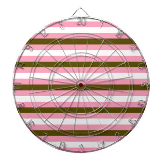 Colorful stripes : Tshirts and more Dartboard