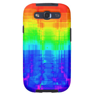 Colorful Structures: Galaxy SIII Case