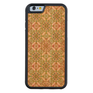 Colorful Stylized Floral Boho Cherry iPhone 6 Bumper Case