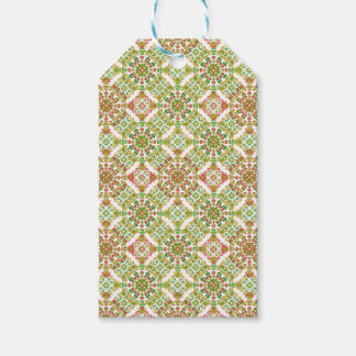 Colorful Stylized Floral Boho Gift Tags