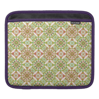 Colorful Stylized Floral Boho iPad Sleeve