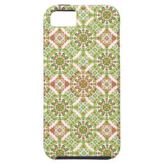 Colorful Stylized Floral Boho iPhone 5 Case