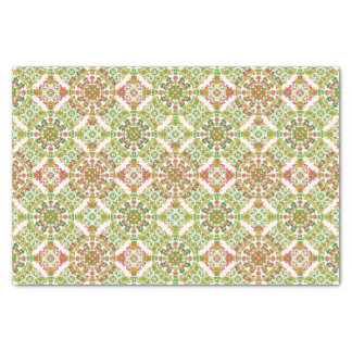 Colorful Stylized Floral Boho Tissue Paper