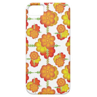 Colorful Stylized Floral Pattern Case For The iPhone 5