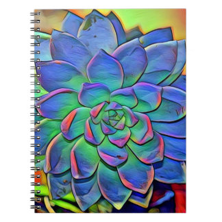 Colorful Succulent Notebook