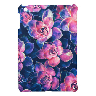 Colorful Succulent Plants iPad Mini Covers