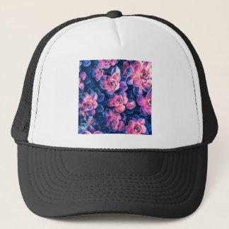 Colorful Succulent Plants Trucker Hat