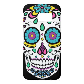 Colorful Sugar Skull Phone Case