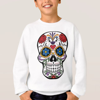 Colorful Sugar Skull Sweatshirt