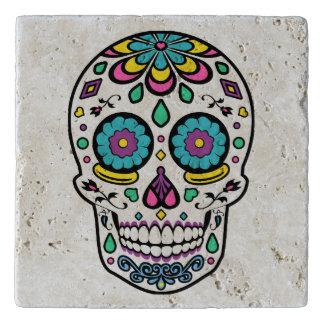 Colorful Sugar Skull Trivet