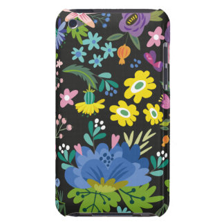 Colorful Summer Flower Pattern Barely There iPod Case