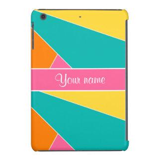 Colorful Summer Geometric Pattern iPad Mini Retina Cover
