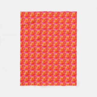 Colorful Sunflower Fleece Blanket (Small)