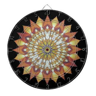 Colorful, sunny, Chinese pattern Dart Boards