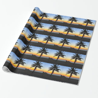 Colorful Sunrise Wrapping Paper