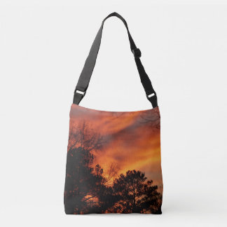 Colorful Sunset Cross Body Bag