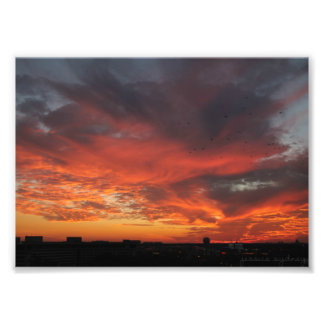 Colorful Sunset Photo Print