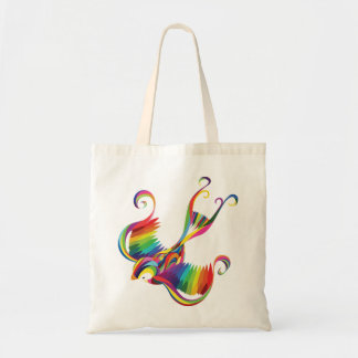 Colorful Swallow Tote