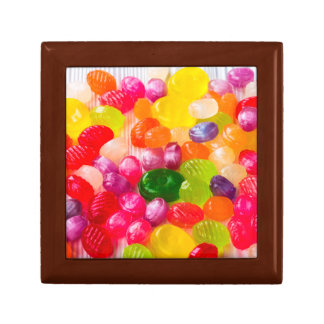Colorful Sweet Candies Food Lollipop Gift Box