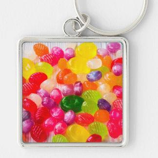 Colorful Sweet Candies Food Lollipop Keychain