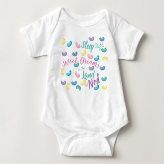 Colorful Sweet Candy Dreams Baby Bodysuit