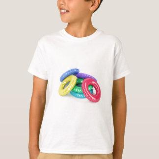 Colorful swim rings T-Shirt
