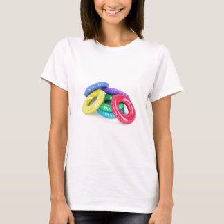 Colorful swim rings T-Shirt