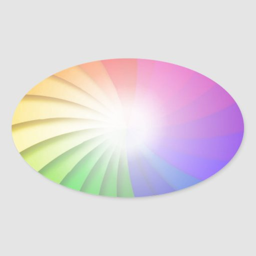 Colorful-Swirl-Background-Vector-Illustration RAIN Sticker