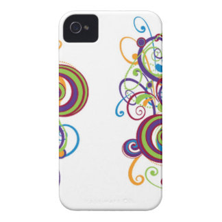 Colorful Swirl Blackberry Bold Case