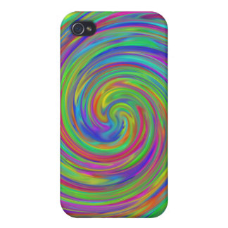 Colorful Swirl Covers For iPhone 4