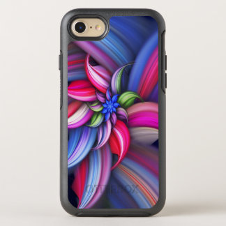 Colorful Swirl Design OtterBox Symmetry iPhone 8/7 Case