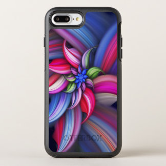 Colorful Swirl Design OtterBox Symmetry iPhone 8 Plus/7 Plus Case