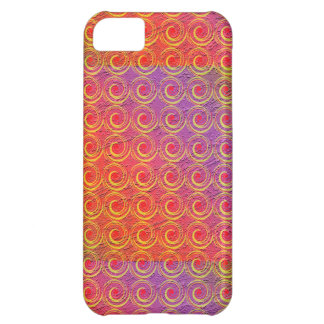 Colorful Swirls Pattern iPhone 5C Cases