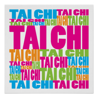 Colorful Tai Chi Poster