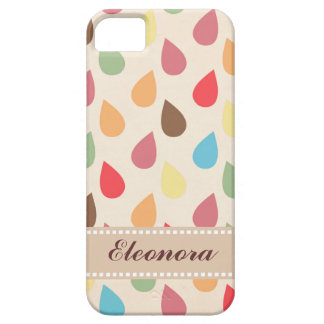 Colorful Teardrop, Raindrop Pattern iPhone 5 Covers