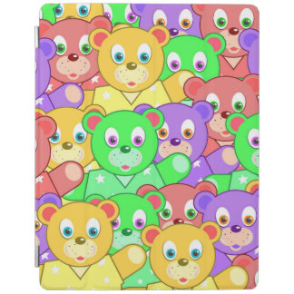 COLORFUL TEDDY BEARS iPad COVER