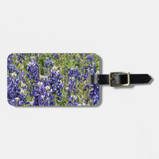 Colorful Texas Bluebonnets - Lupinus texensis Luggage Tag