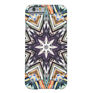 Colorful Textured Star Barely There iPhone 6 Case